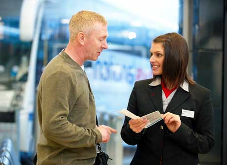 National Express staff talk customers through new charter