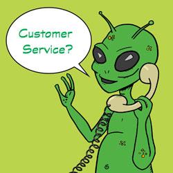 Alien calling