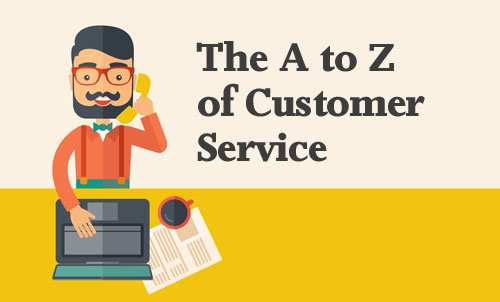 A to Z of customer service