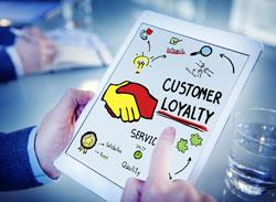Customer loyalty page