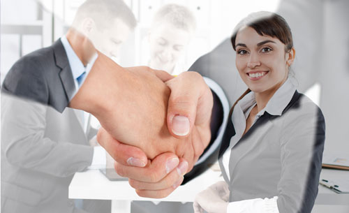 Polite handshake