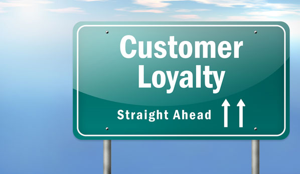 Loyal customers sign