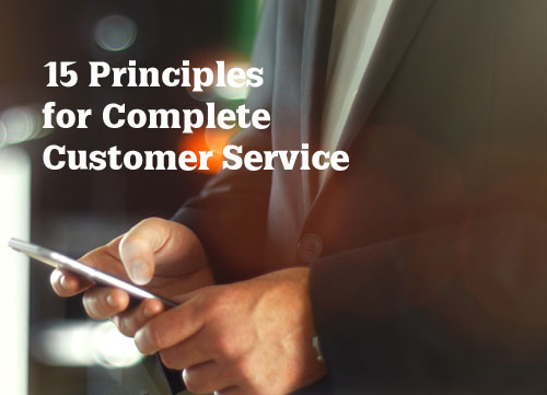 Customer Service Principles