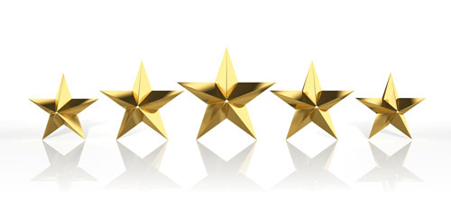 5 Star Customer Service Award