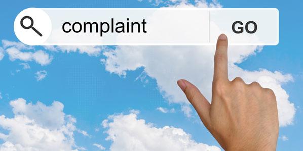 Complaints cloud