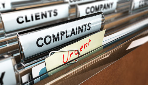 Customer Complaints File
