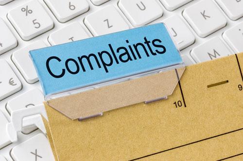 Complaint handling file