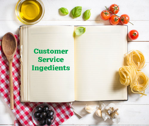 Customer Service Cook Book
