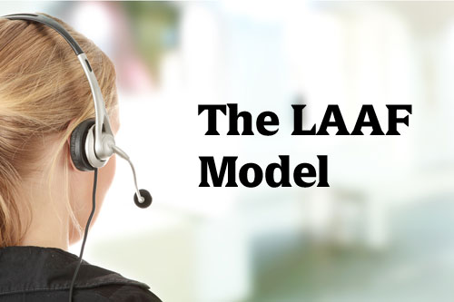 Handling Customer Complaints: The LAAF Method