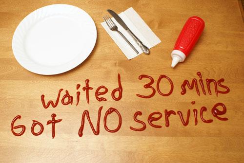 No service is bad service