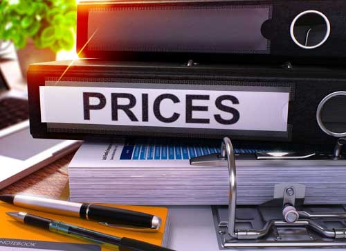 pricing folder