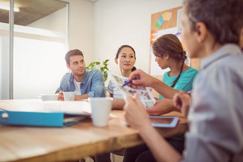 Internal customers  meeting