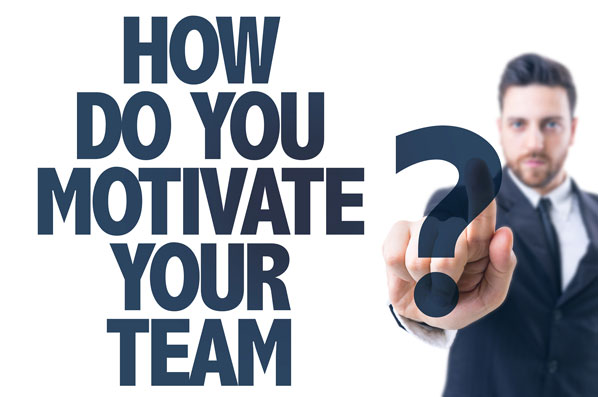 Hoe do you motivate your team?
