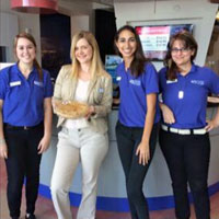 South Florida Science Center Guest Services team