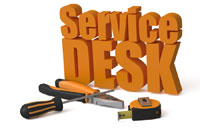 Customer service desk