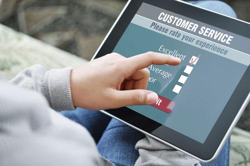 Customer Feedback Screen