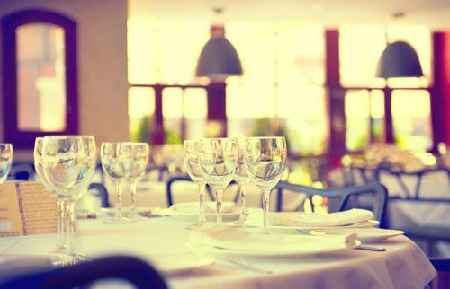 Customer's table
