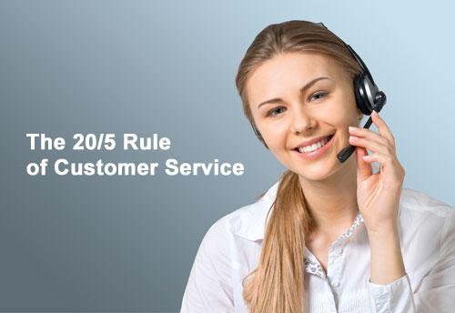 customer service rule