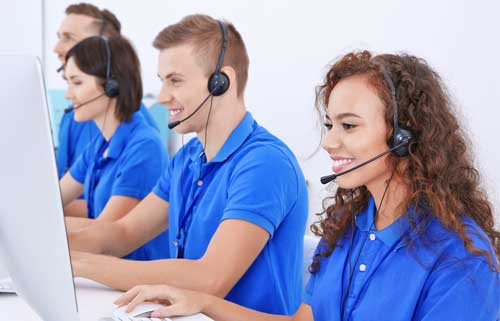 Team of Customer Service Reps