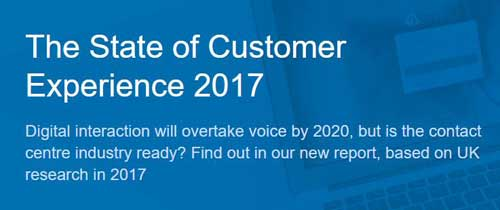 State of Customer Experience Report 2017