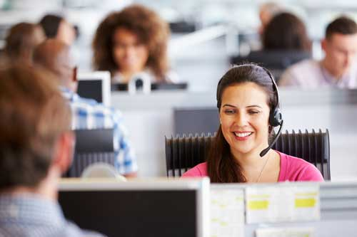 Real time call center agents