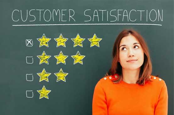 Amazon customer satisfaction score