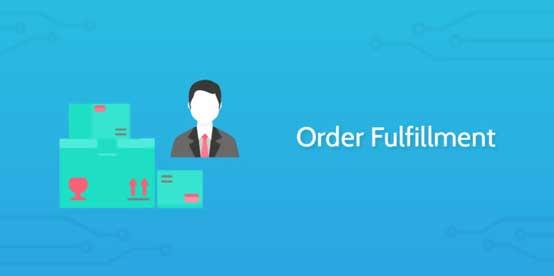 Order fulfillment graphic