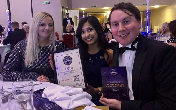 Redrow Social Customer Service Team of the Year