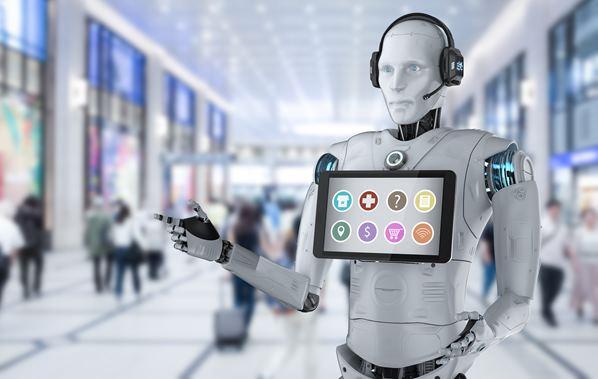 AI robot sales assistant