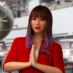 Ava the AirAsia chatbot