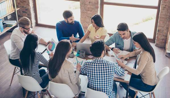 team building meeting