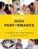 Creating a High Performance team