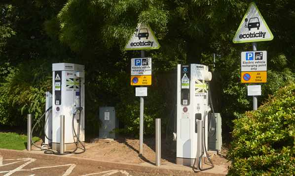 Ecotricity Car Charging Points