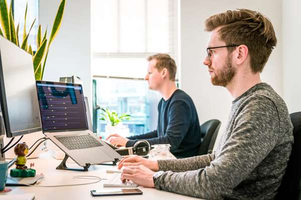tech team creating FAQ page