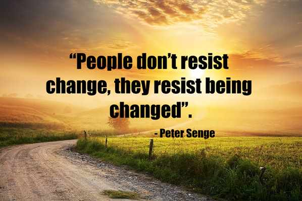 Peter Senge Change Quote
