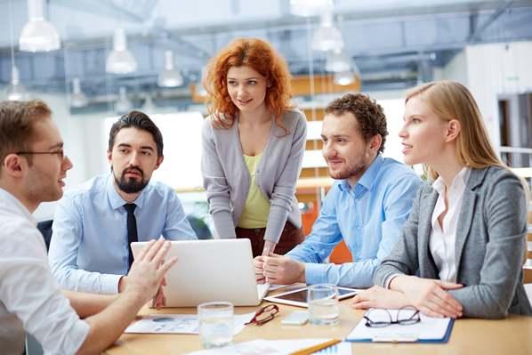 Agile business team