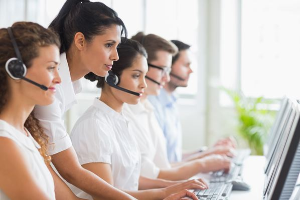 Outsourced Call Center in action