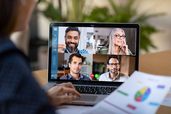 Working remotely using video conferencing