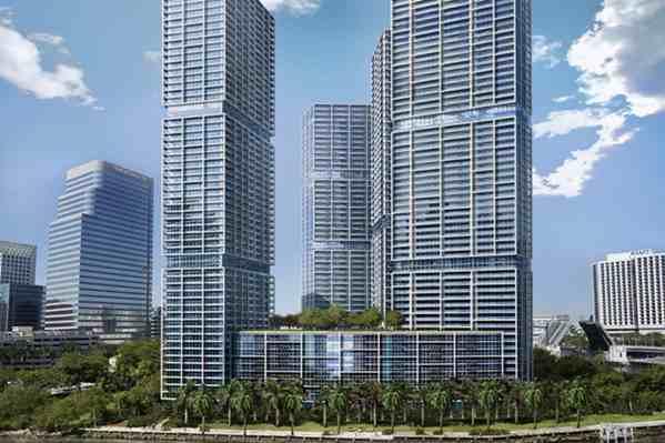 Icon Brickell apartments, Miami