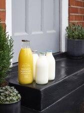Orange and Milk delivery
