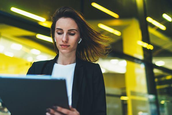Finance Manager reading SMCR Regulations