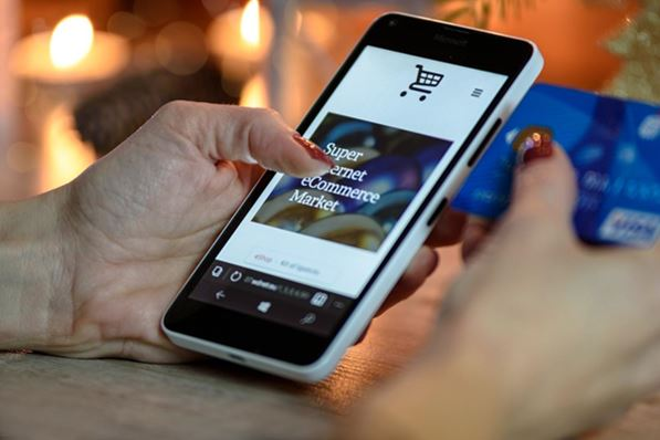 Online shopping with mobile