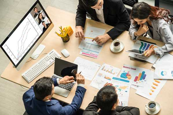 SEO Agency meeting
