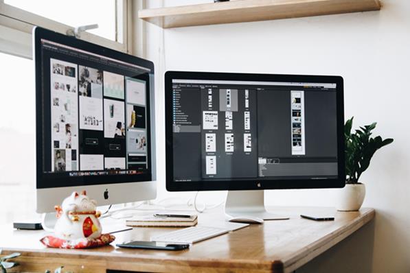 Business website software