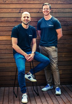 Elvio Co-founders, Chris Duell and Matt Trimarchi