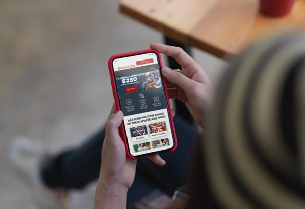 Online sports betting on mobile phone