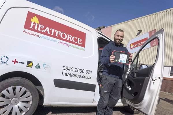 Heatforce van
