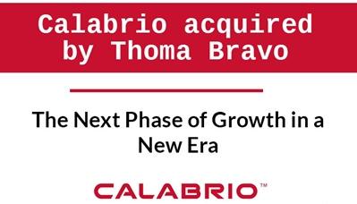 Thoma Bravo acquisition of Calabrio