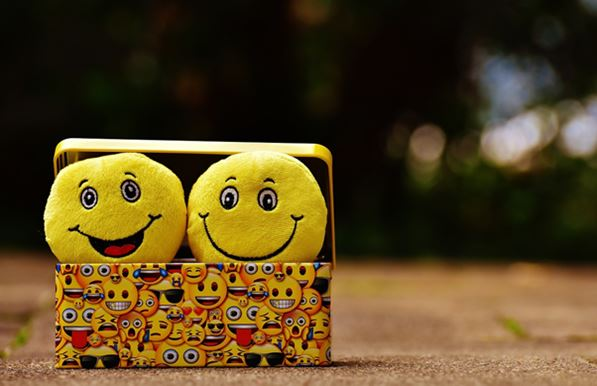 Smilies in a box