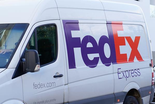 FedEx Express van